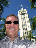 Me at Aloha Tower