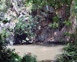 Alapena Pond at Kapena Falls