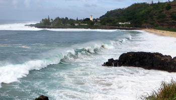 Waimea Bay in Winter