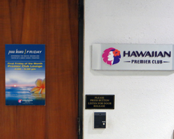 Hawaiian Airlines Premier Club Lounge