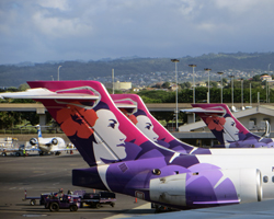 Hawaiian Airlines Jets at Honolulu International Airport