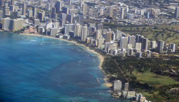 Hawaii Hotels: Aerial View of Waikiki and Kapiolani Park