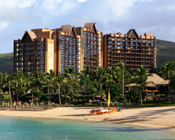 Beachfront Oahu Hotels: Disney Aulani in the Ko Olina Resort