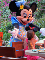 Character Breakfast with Minnie, Mickey, and Goofy at Disney Aulani Hotel