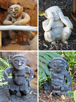Some of the 300 Menehune Hidden Around Disney Aulani Resort