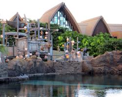 Rainbow Reef Snorkeling Pool and Menehune Bridge Water Play Area at Disney Aulani Resort