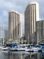 Northwest Waikiki Hotels: Hawaii Prince Hotel Waikiki at Ala Wai Boat Harbor