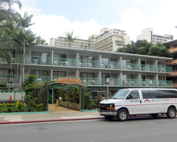 Central Waikiki Hotels: White Sands Hotel