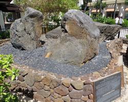 Waikiki Wizard Stones Platform