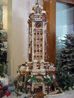 Gingerbread Village Aloha Tower