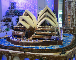 Sydney Opera House in the Sheraton Princess Kaiulani Gingerbread Village