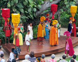 Aloha Festivals Hawaiian Royal Court Investiture Ceremony