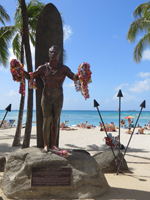 Duke Kahanamoku Statue Beauty