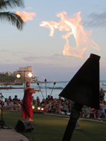 Torch Lighting Ceremony & Free Hula Show