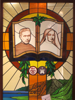 Father Damien Museum Stained Glass