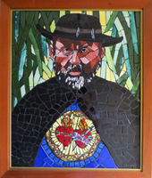 Father Damien Museum Mosaic