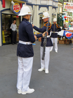 King's Guard Changing Ceremony Rifle Spinning