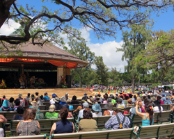 Lei Day at Kapiolani Park Bandstand