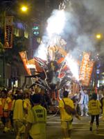 Fire Breathing Dragon in the Honolulu Festival Parade