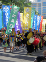 The Honolulu Festival Parade