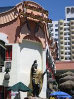 King Kamehameha Statue at the Hawaiian Marketplace in Las Vegas