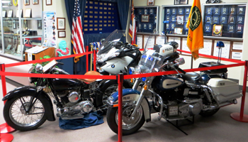 Police Motorcycles Display at the Honolulu Police Museum