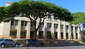 The Honolulu Police Museum is Located Inside the Main Precinct of the Honolulu Police Department