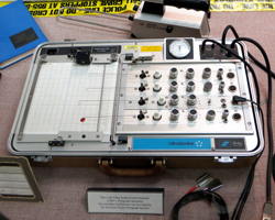 Old Polygraph Machine at the Honolulu Police Museum