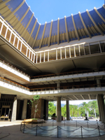 Open-Sky Atrium at the Hawaii State Capitol