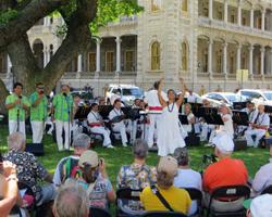 Royal Hawaiian Band Singers & Hula Dancer