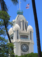 Aloha Tower Observation Deck and Clock