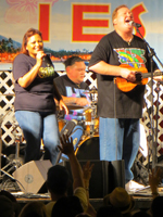 Free Honolulu Entertainment by Kapena at Hoolaulea Block Party