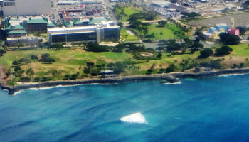 Aerial View of Kakaako Waterfront Park