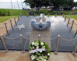 Ehime Maru Memorial in Kakaako Waterfront Park