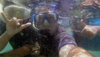 Me and the Kids at Hanauma Bay Hawaii
