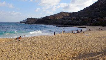 Sandy Beach Oahu