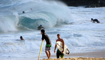 Sandy Beach Oahu Tube