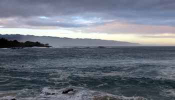 North Shore Oahu at Sunrise