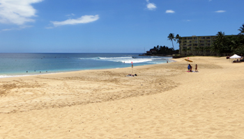 Makaha Beach Park on West Shore Oahu