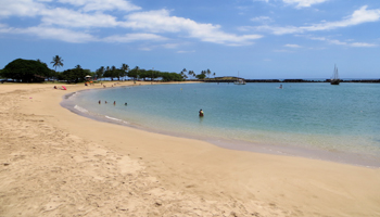 Pokai Bay Beach Park on West Shore Oahu