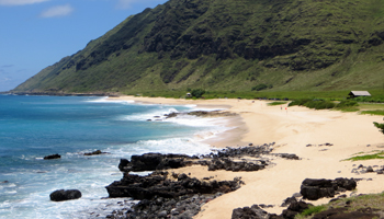 Yokohama Beach on West Shore Oahu