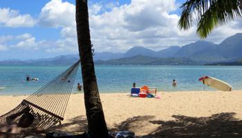 Secret Island in Kaneohe Bay on East Shore Oahu