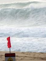 Surfing in Hawaii: Dangerous Shore Break at Pipeline