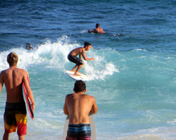 Sandy Beach Oahu Body Boarding