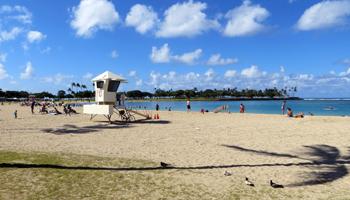 Ala Moana Beach Park Honolulu Hi