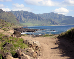 Kaena Point West Shore Coastal Hiking Path