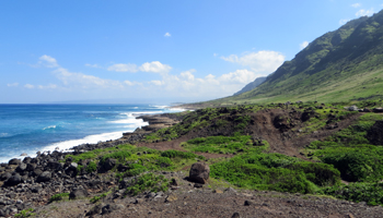 Kaena Point North Shore Coastal Hiking Path