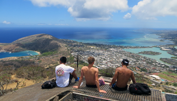 View from Summit of Koko Crater