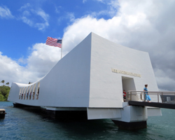 USS Arizona Memorial Pearl Harbor