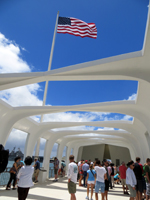 Inside the USS Arizona Memorial